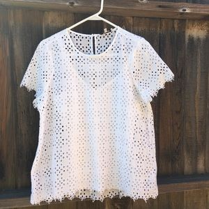 Madewell Eyelet Top | M